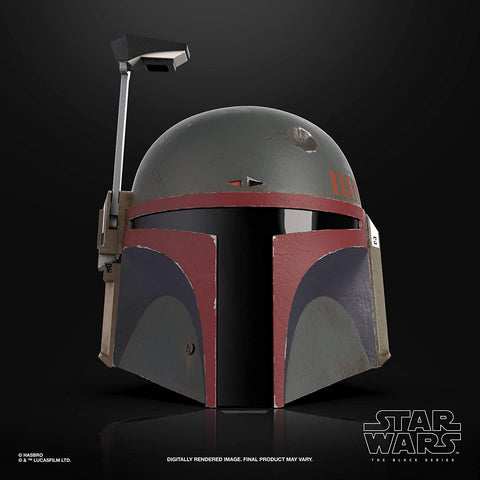 Star Wars The Black Series Boba Fett (Re-Armored) Premium Electronic Helmet Prop Replica