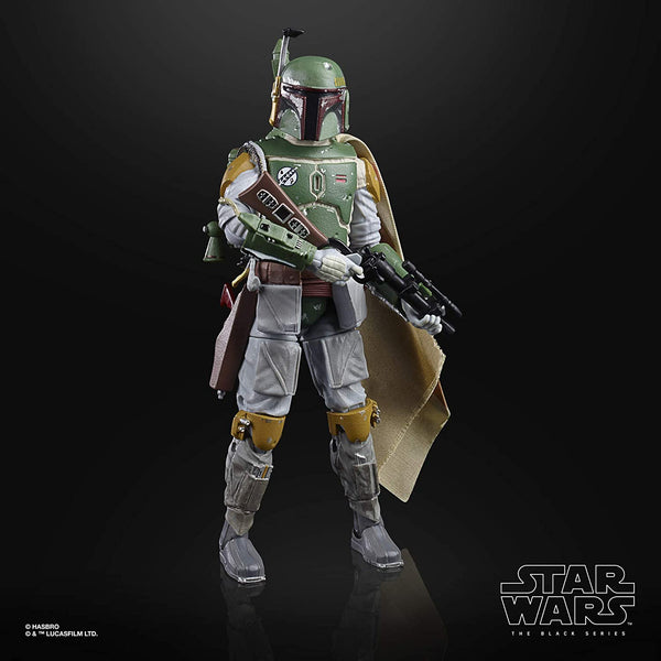 Star Wars The Black Series Boba Fett 6-Inch Scale The Empire Strikes Back 40th Anniversary Collectible Figure