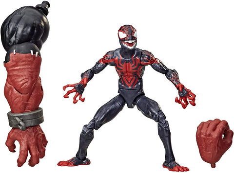 Hasbro Marvel Legends Series Venom 6-inch Collectible Action Figure Toy Miles Morales, Premium Design