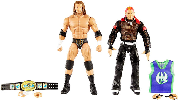 WWE Elite Collection Triple H And Jeff Hardy Action Figure 2-Pack
