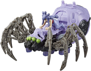 ZOIDS Hasbro Mega Battlers Phobia - Spider-Type Buildable Beast Figure with Wind-Up Motion - Toys for Kids Ages 8 and Up, 35 Pieces