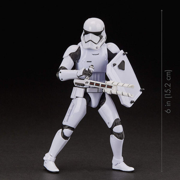 "Star Wars The Black Series First Order Stormtrooper Toy 6"" Scale The Last Jedi Collectible Action Figure, 4 & Up"