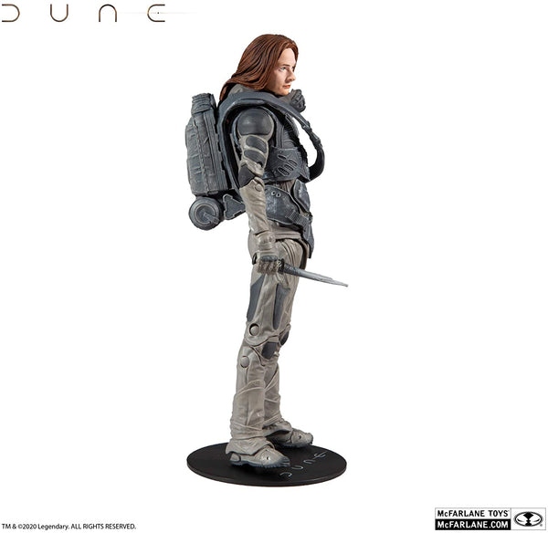 McFarlane Toys Dune Lady Jessica 7-inch Action Figure with Build-A Glossu 'Beast' Rabban Figure Parts