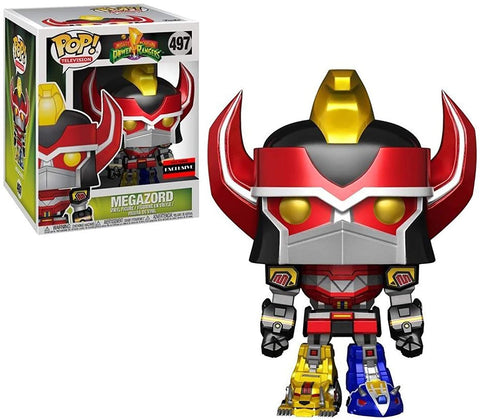 Funko Pop! TV: Power Rangers - Metallic Megazord 6-inch - AAA Anime Exclusive