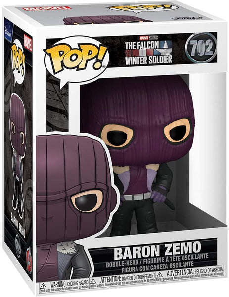 Funko POP! Marvel: The Falcon and The Winter Soldier - Baron Zemo