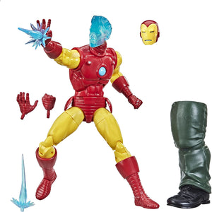 Marvel Hasbro Legends Series 6-inch Collectible Tony Stark (A.I.) Action Figure