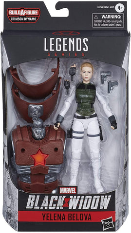 Marvel Hasbro Black Widow Legends Series 6-inch Collectible Yelena Belova Action Figure Toy, Premium Design, 2 Accessories, Ages 4 and Up