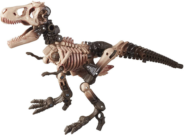Transformers Toys Generations War for Cybertron: Kingdom Deluxe WFC-K7 Paleotrex Fossilizer Action Figure - Kids Ages 8 and Up, 5.5-inch