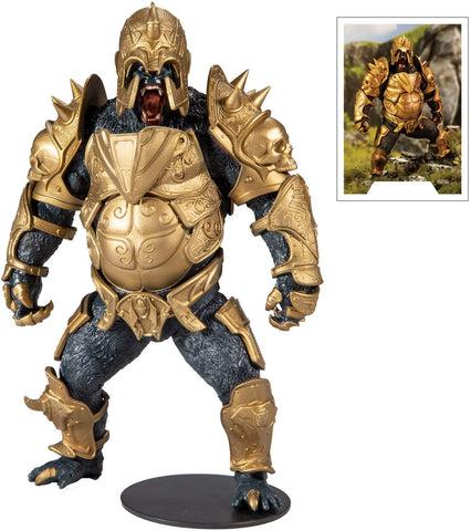 "DC Gaming Injustice 2 Gorilla Grodd Designed by Todd McFarlane 7"" Action Figure"