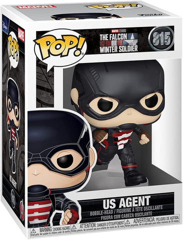 Funko POP! Marvel: The Falcon and Winter Soldier - U.S. Agent