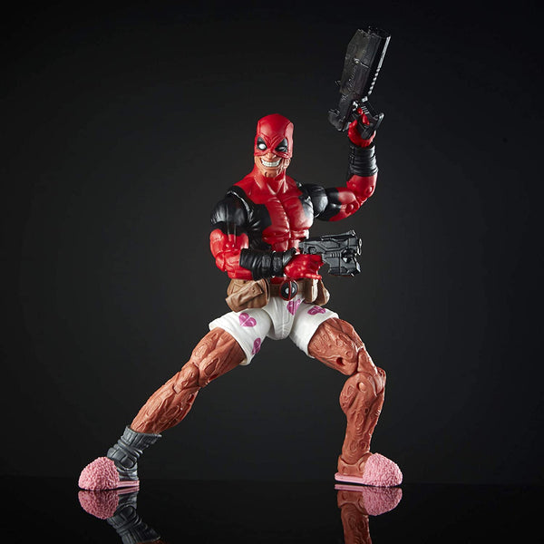 Hasbro Marvel Legends Series 6-inch Deadpool Collection Deadpool Action Figure (Deadpool 3) Toy Premium Design and 2 Accessories