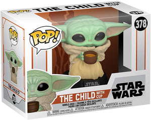 Funko Pop! Star Wars: The Mandalorian - The Child with Cup