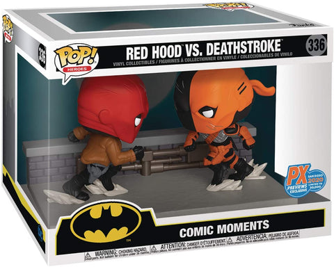 SDCC 2020 Comic Moment DC RED Hood VS Deathstroke PX Figure