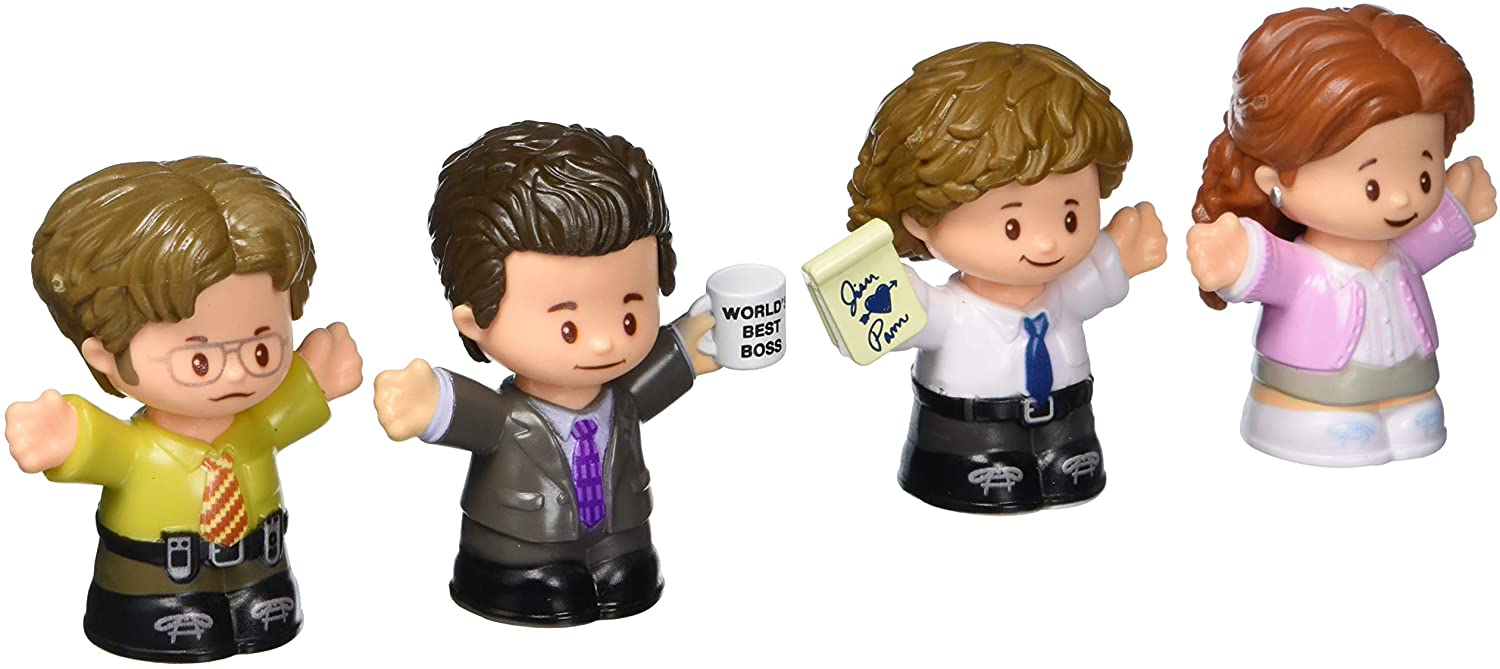The Office Figures by Little People 4-Pack
