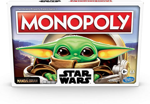 Monopoly: Star Wars The Child Edition Board Game for Families and Kids Ages 8 and Up, Featuring The Child, Who Fans Call Baby Yoda