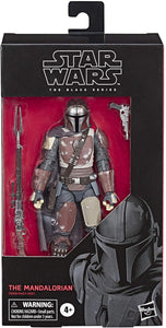 "Star Wars The Black Series The Mandalorian Toy 6"" Scale Collectible Action Figure, Toys for Kids Ages 4 & Up"
