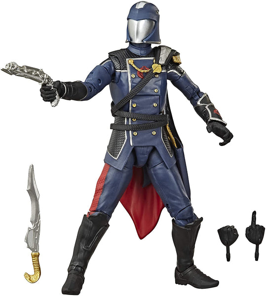 Hasbro G.I. Joe Classified Series Cobra Commander Action Figure 06 Collectible Premium Toy, Multiple Accessories, 6-Inch Scale, Custom Package Art