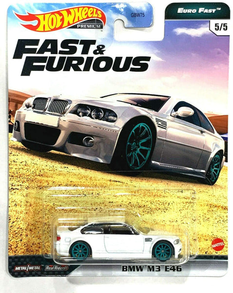 Fast & Furious Hot Wheels Premium Euro Fast Vehicles Wave 5 Set of 5