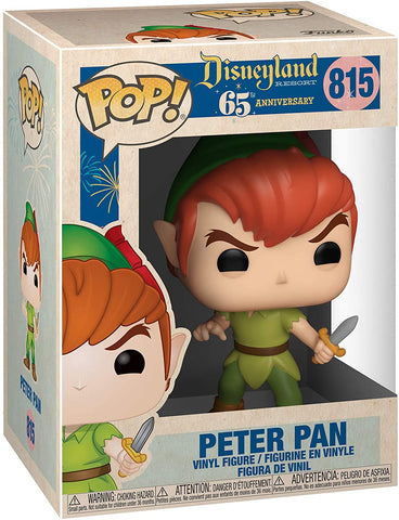Disneyland 65th Anniversary Peter Pan Pop! Vinyl Figure