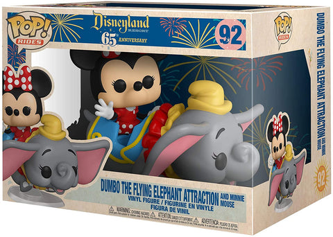 Disneyland 65th Anniversary Flyng Dumbo Ride with Minnie Pop! Vinyl Ride