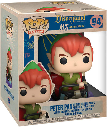 Disneyland 65th Anniversary Peter and Flight Pop! Vinyl Ride