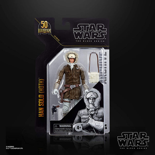 STAR WARS The Black Series Archive Han Solo (Hoth) Toy 6-Inch-Scale Rebels Collectible Figure