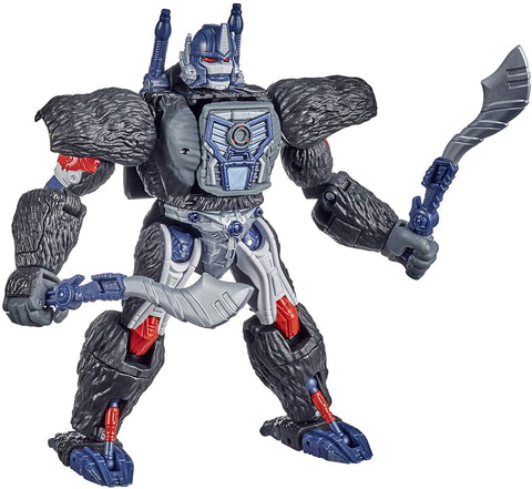 Transformers Toys Generations War for Cybertron: Kingdom Voyager WFC-K8 Optimus Primal Action Figure - Kids Ages 8 and Up, 7-inch