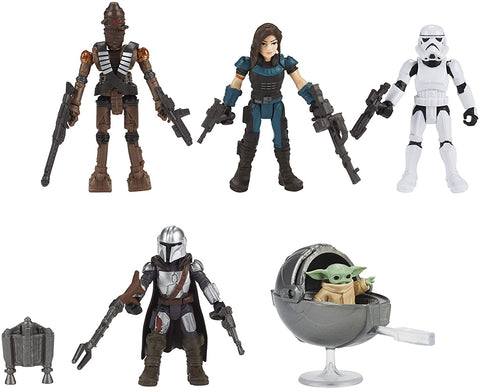 STAR WARS Mission Fleet Defend The Child 2.5-Inch-Scale Figure 5-Pack with Accessories