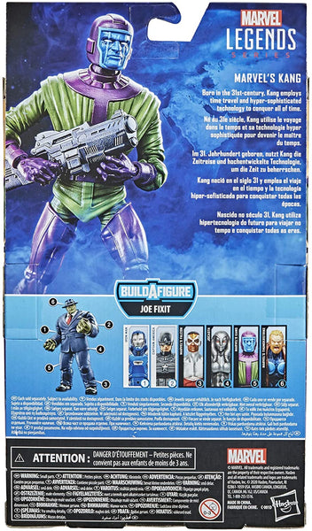 Hasbro Marvel Legends Series 6-inch Marvel's Kang Action Figure Toy, Ages 4 and Up