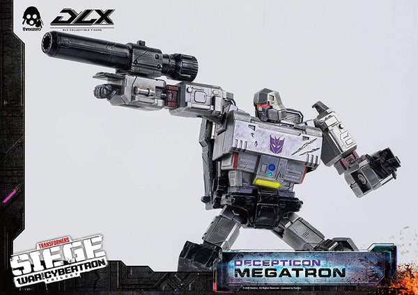 Threezero Transformers: War for Cybertron Megatron Deluxe Collectible Figure