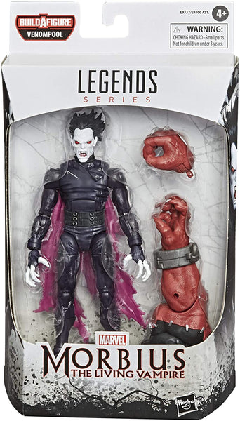 Venom Legends 6 Inch Action Figures Wave 1, Set of 6 Figures (Venompool BAF)
