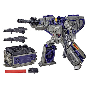 Transformers Toys Generations War for Cybertron: Earthrise Leader WFC-E12 Astrotrain Triple Changer Action Figure