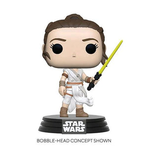 Funko Pop! Star Wars : TRoS - Rey with Yellow Lightsaber