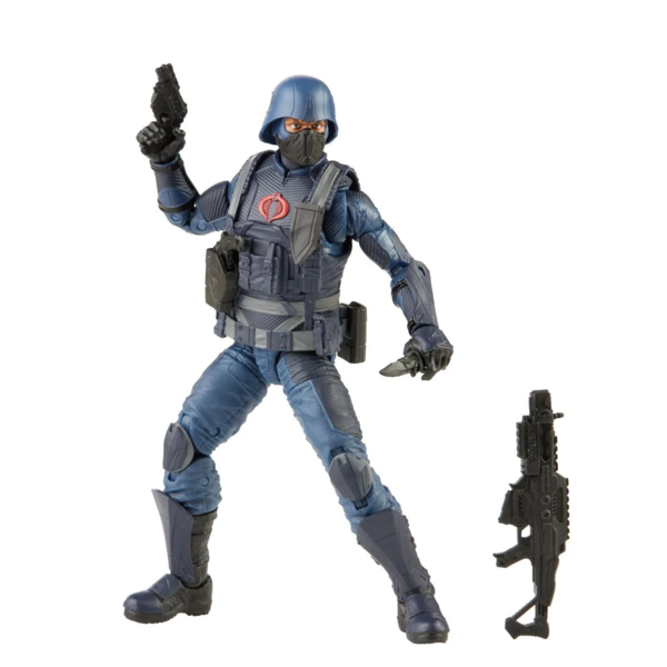 Hasbro G.I. Joe Classified Series Cobra Infantry Action Figure Collectible Premium Toy with Multiple Accessories 6-Inch Scale with Custom Package Art