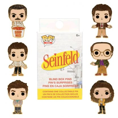 Funko Loungefly: Seinfeld - Blind Box Pins - Case of 12
