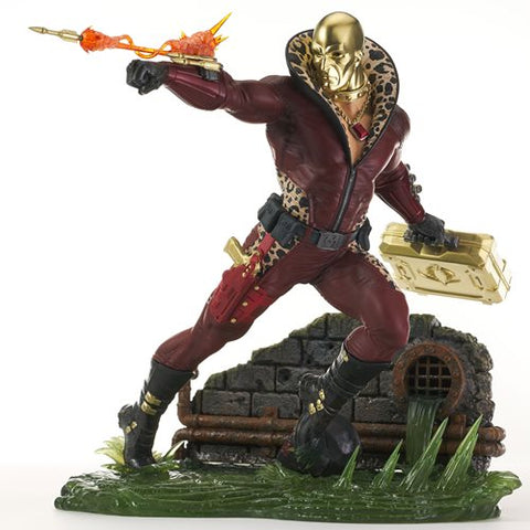 G.I. Joe Gallery Profit Director Destro Statue - Diamond Select Showcase Previews Exclusive