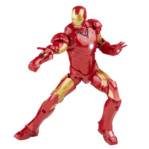 Avengers Infinity Saga Marvel Legends Series 6-inch Iron Man Mark 3 Action Figure