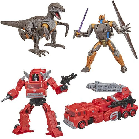 Transformers Generations War for Cybertron: Kingdom Voyager Wave 2 Bundle