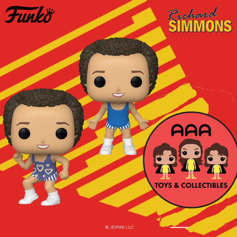 Funko Pop! Icons: Richard Simmons - Bundle of 2