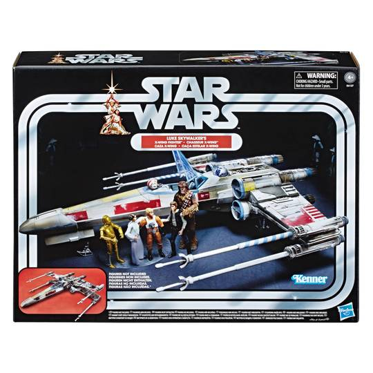 Star Wars The Vintage Collection Luke Skywalker Red 5 X-Wing Fighter 3 3/4-Inch Scale Vehicle - Exclusive