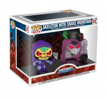 Funko Pop! Town: Masters of the Universe - Snake Mountain with Skeletor