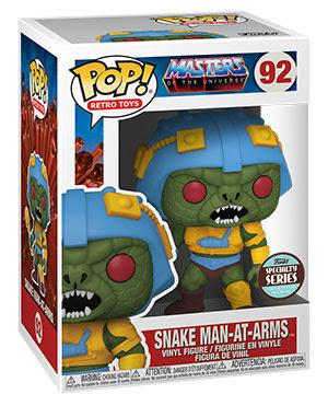 Funko Pop! Retro Toys: Masters of the Universe - Snake Man-At-Arms - Specialty Series