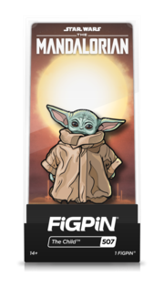 FiGPiN Classic: Star Wars: The Mandalorian - The Child #507