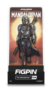 Star Wars: The Mandalorian Bundle of  6 FiGPiN Classic Enamel Pins