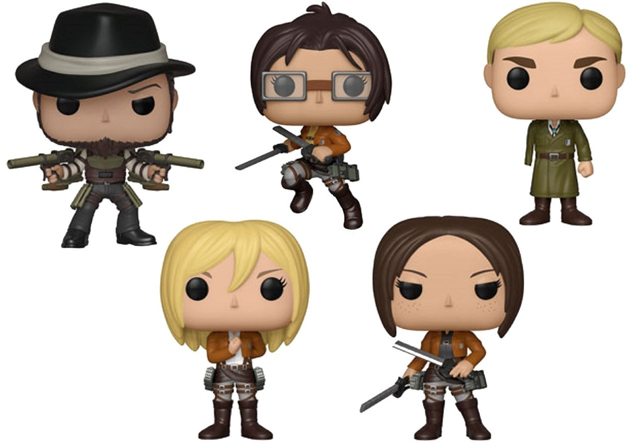 Funko Pop! Animation: Attack on Titan - Bundle