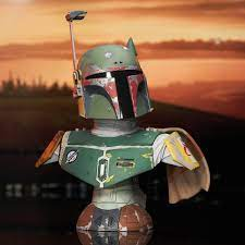 Star Wars: The Empire Strikes Back™ - Boba Fett™ Legends in 3-Dimensions Bust