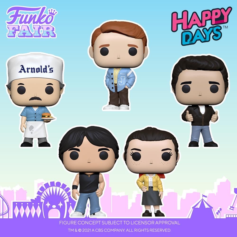 Funko POP! TV: Happy Days - Arnold