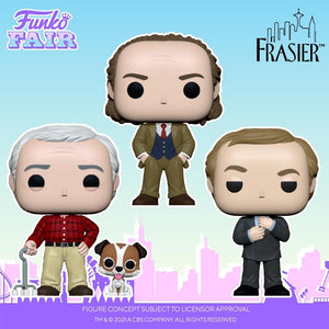 Funko POP! TV: Frasier- Martin with Eddie
