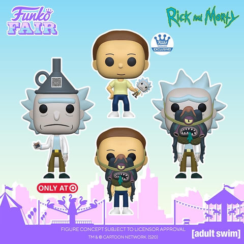 Funko POP! Animation: Rick and Morty - Morty with Glorzo