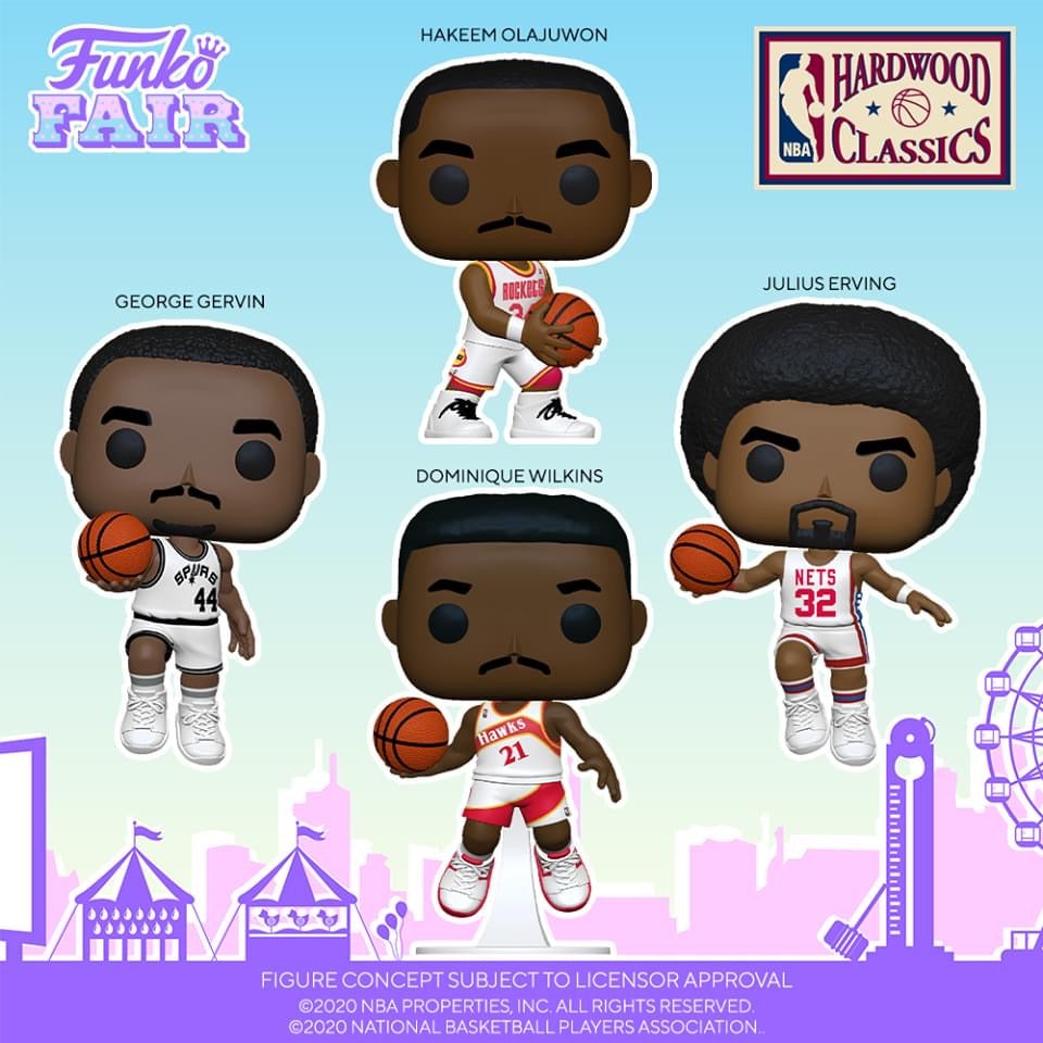 Funko POP! NBA: Legends - Dominique Wilkins (Hawks Home)